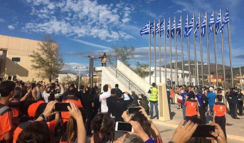 חוזרים למקורות: בכירי מרתון ישראל בהזנקת מרתון אתונה המקורי