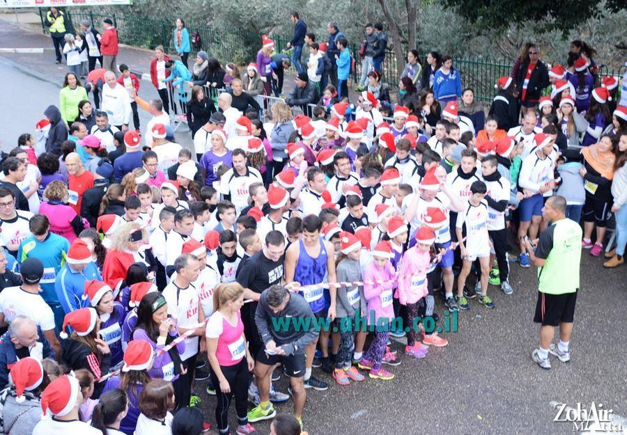 Christmas Run מרוץ ייחודי לציון חגי האורות יתקיים ב-23/12