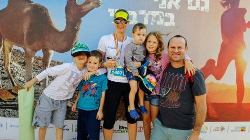 הכירו את רויטל גרביץ – מתאמנת לחצי מרתון מדברי