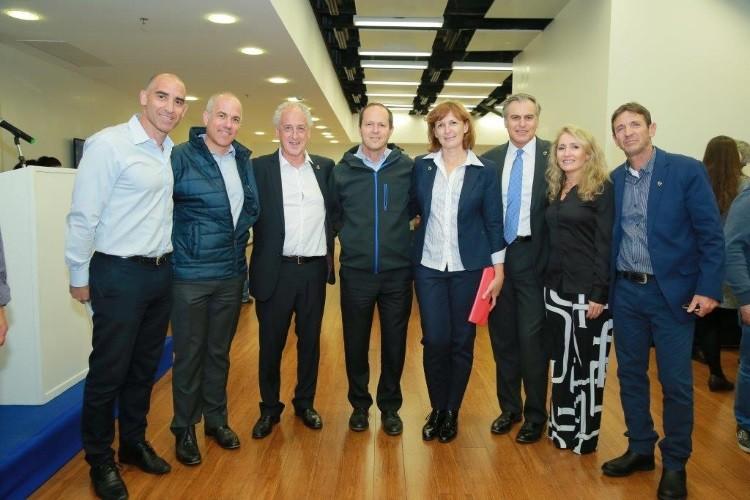 הפעם הראשונה שידידינו מאיגוד ה- AIMS מתארחים אצלנו בישראל