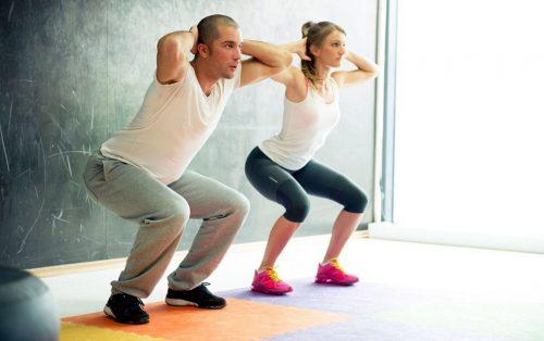 אימון לחיזוק שרירי פלג גוף תחתון