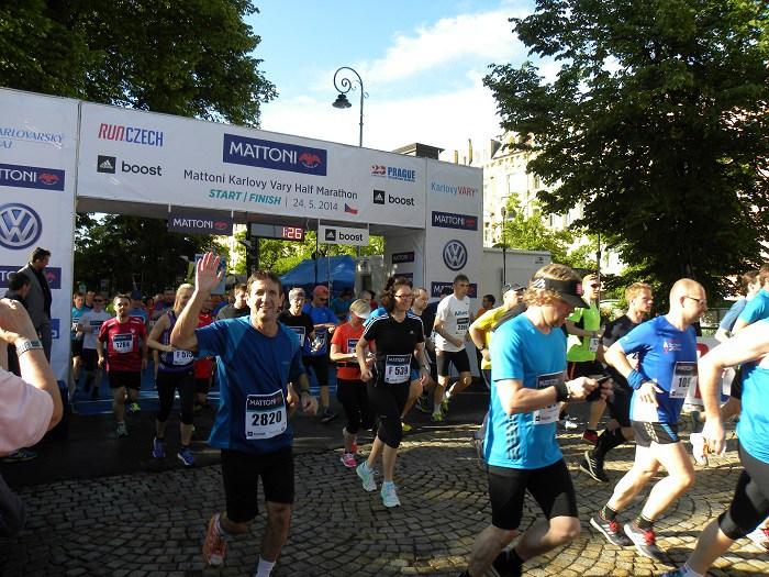 עופר פדן בחצי מרתון בצ'כיה