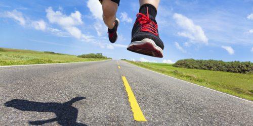 לרוץ כל הדרך אל הנעל